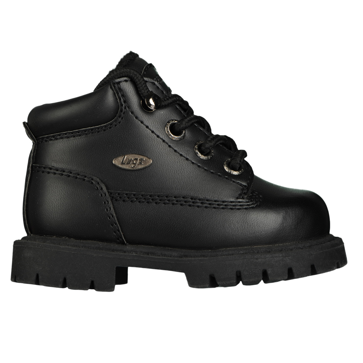 lugz drifter fleece infants boot black stylish footwear