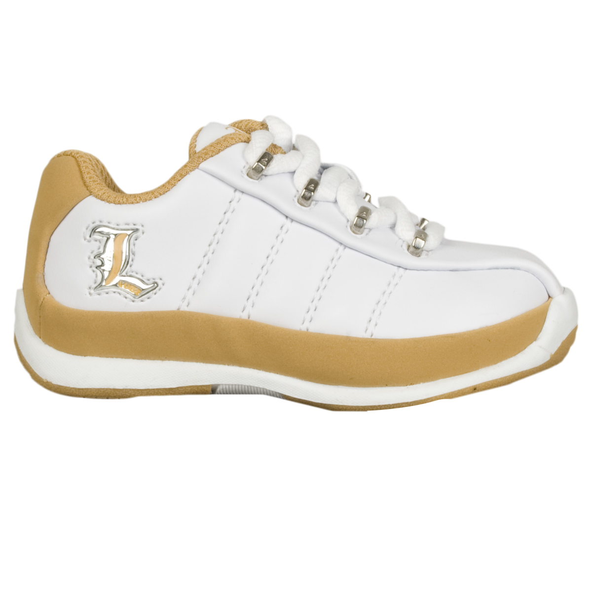 Lugz Tempest II Infants Sneaker White/Wheat