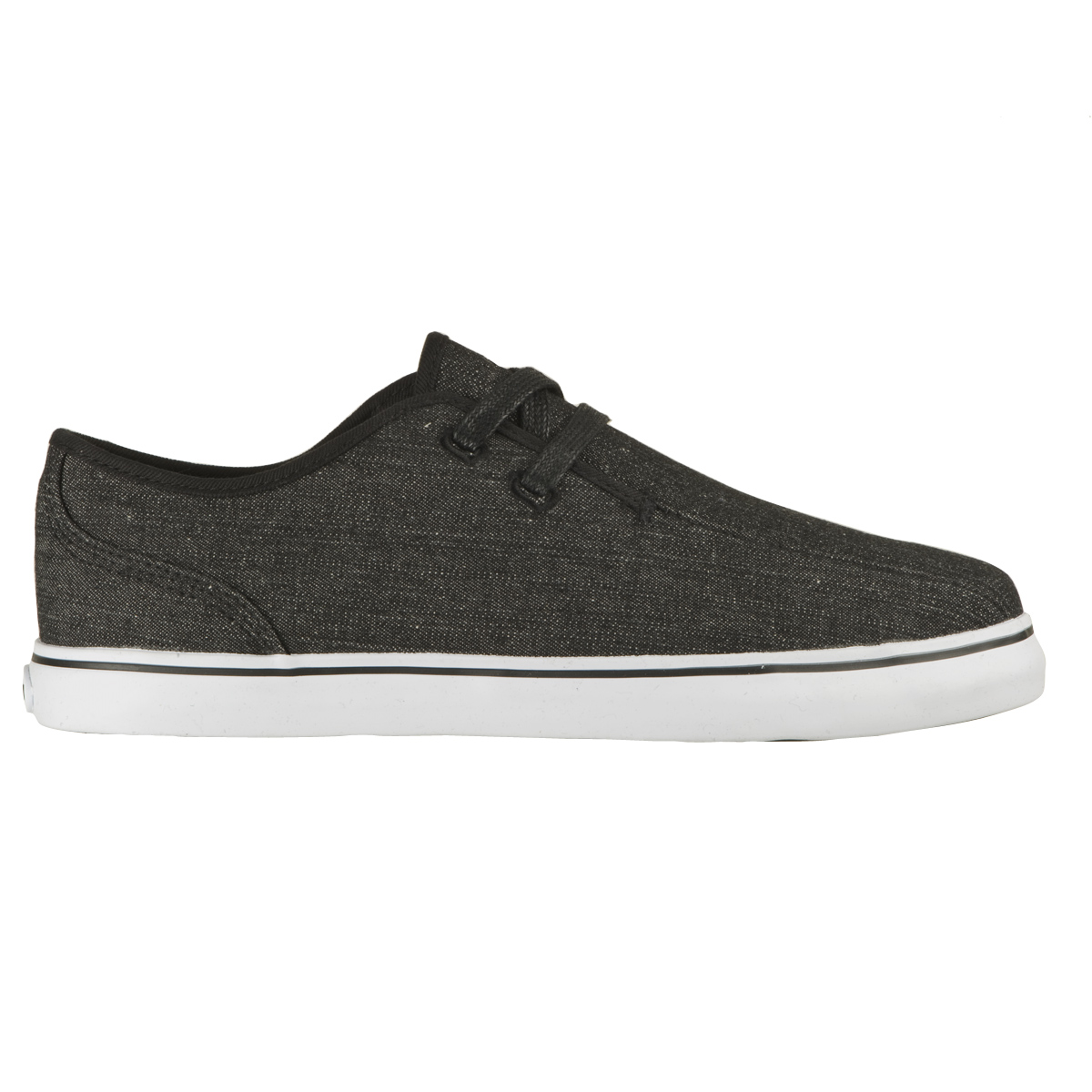 lugz asbury mens shoe black white stylish footwear