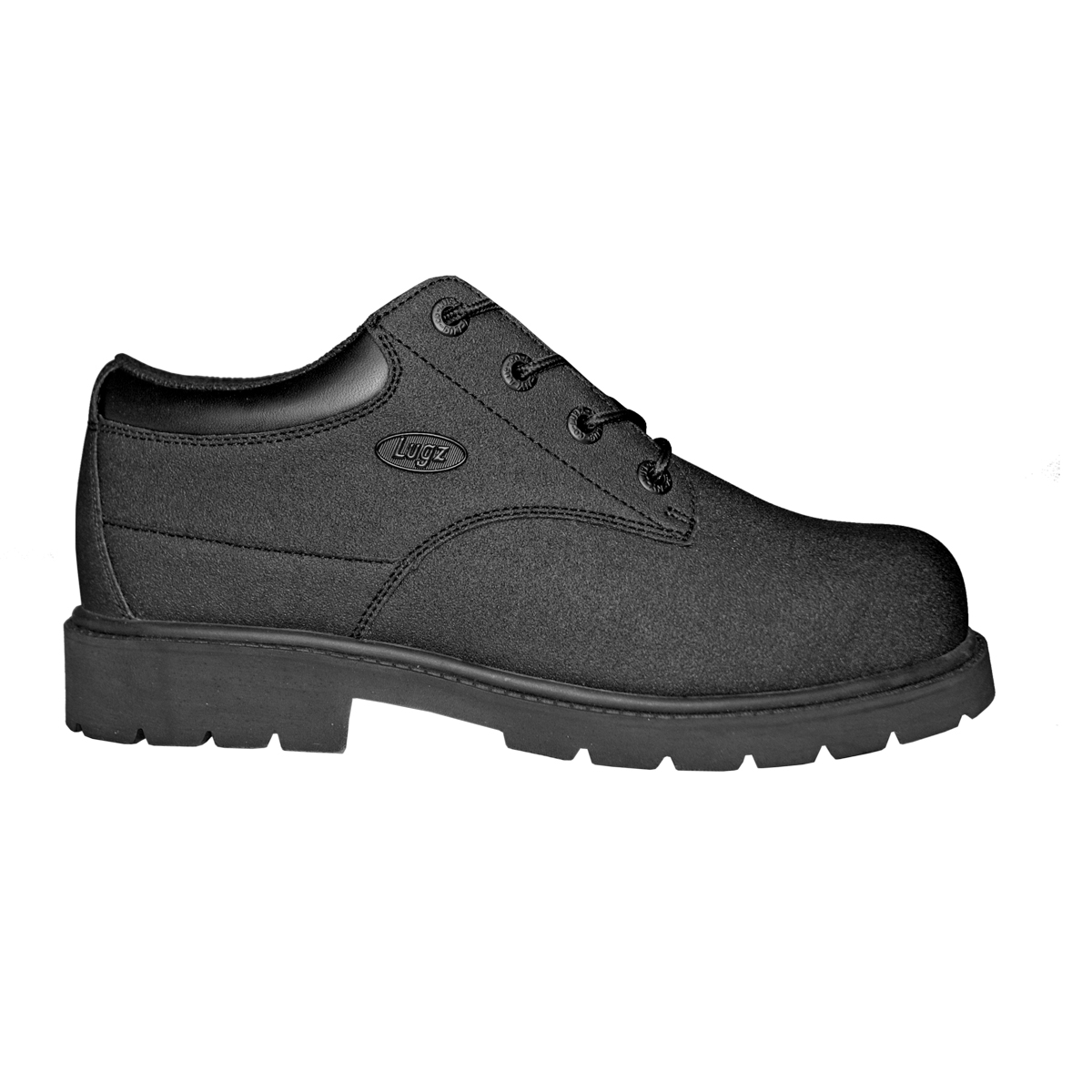 Lugz Drifter LO Scuff Prf Steel Toe Mens Boot Black