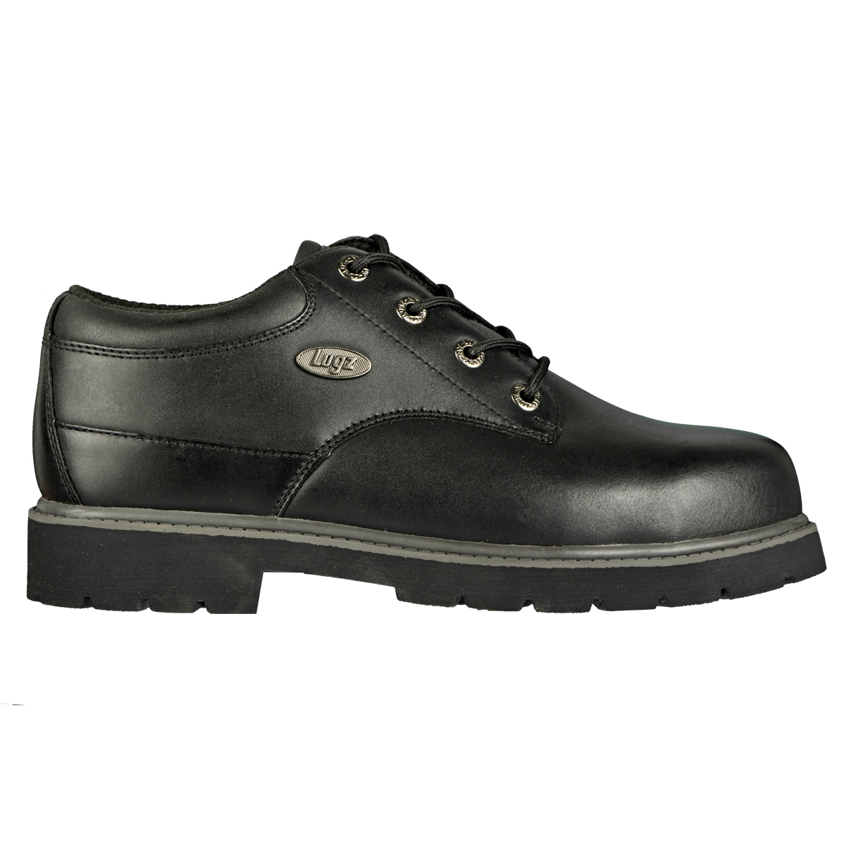 Lugz Drifter LO Steel Toe Mens Workproof Black