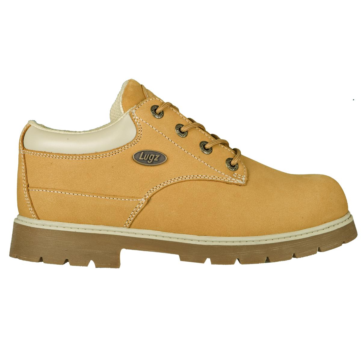 Lugz Drifter Lo Eee Mens Boot Wheat/cream/gum | Gigajam