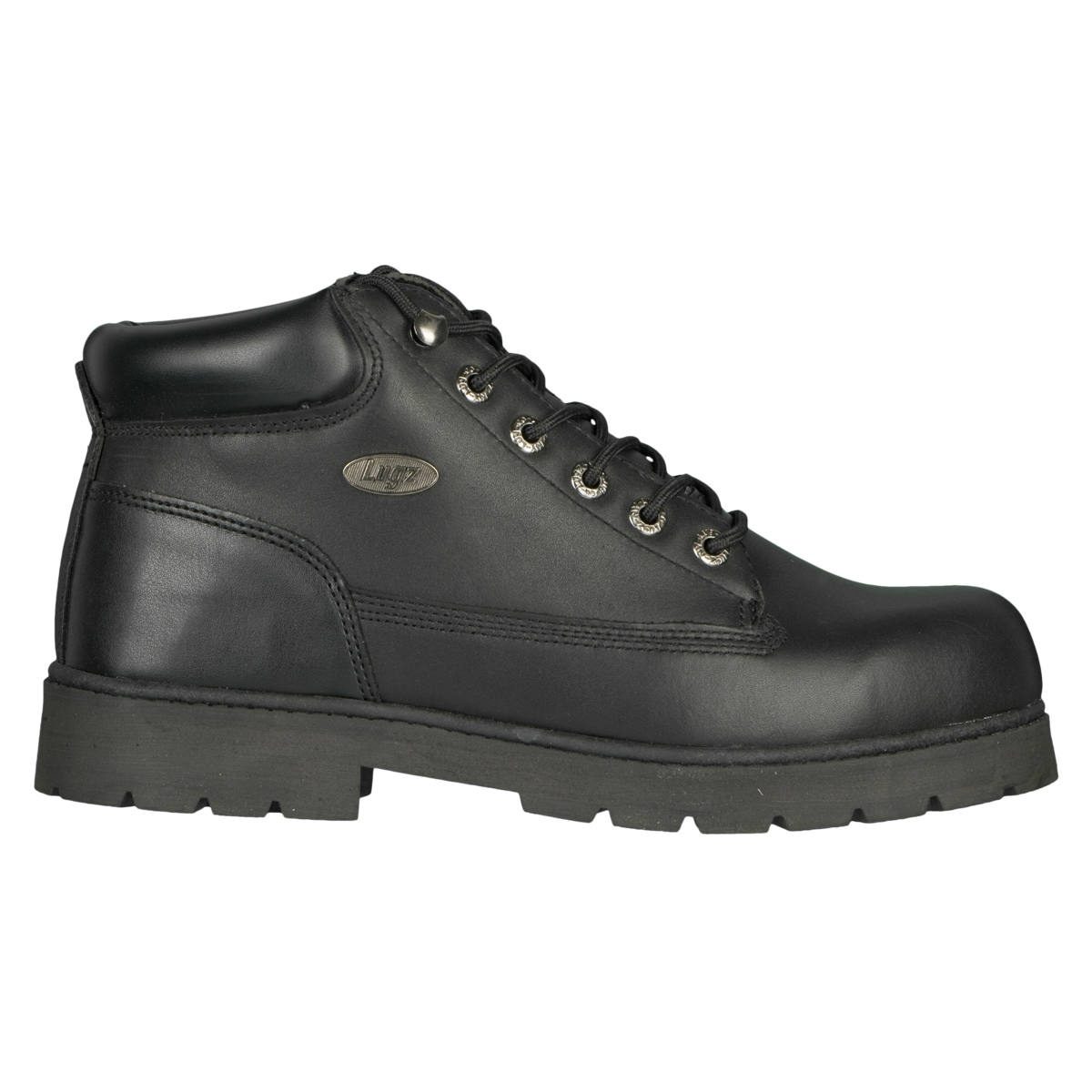 Lugz Drifter Steel Toe Mens Workproof Black