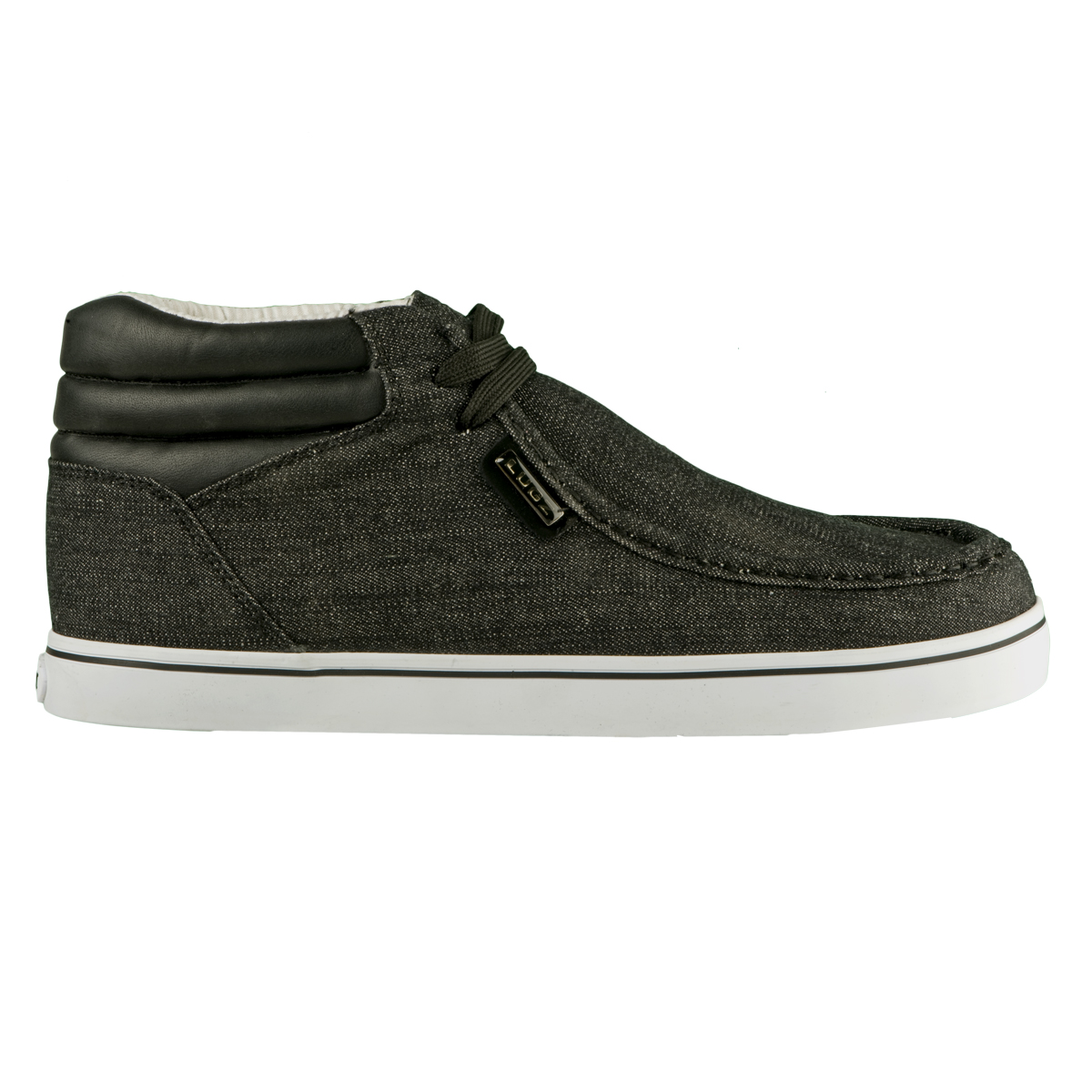 lugz ease mens shoe black white stylish footwear