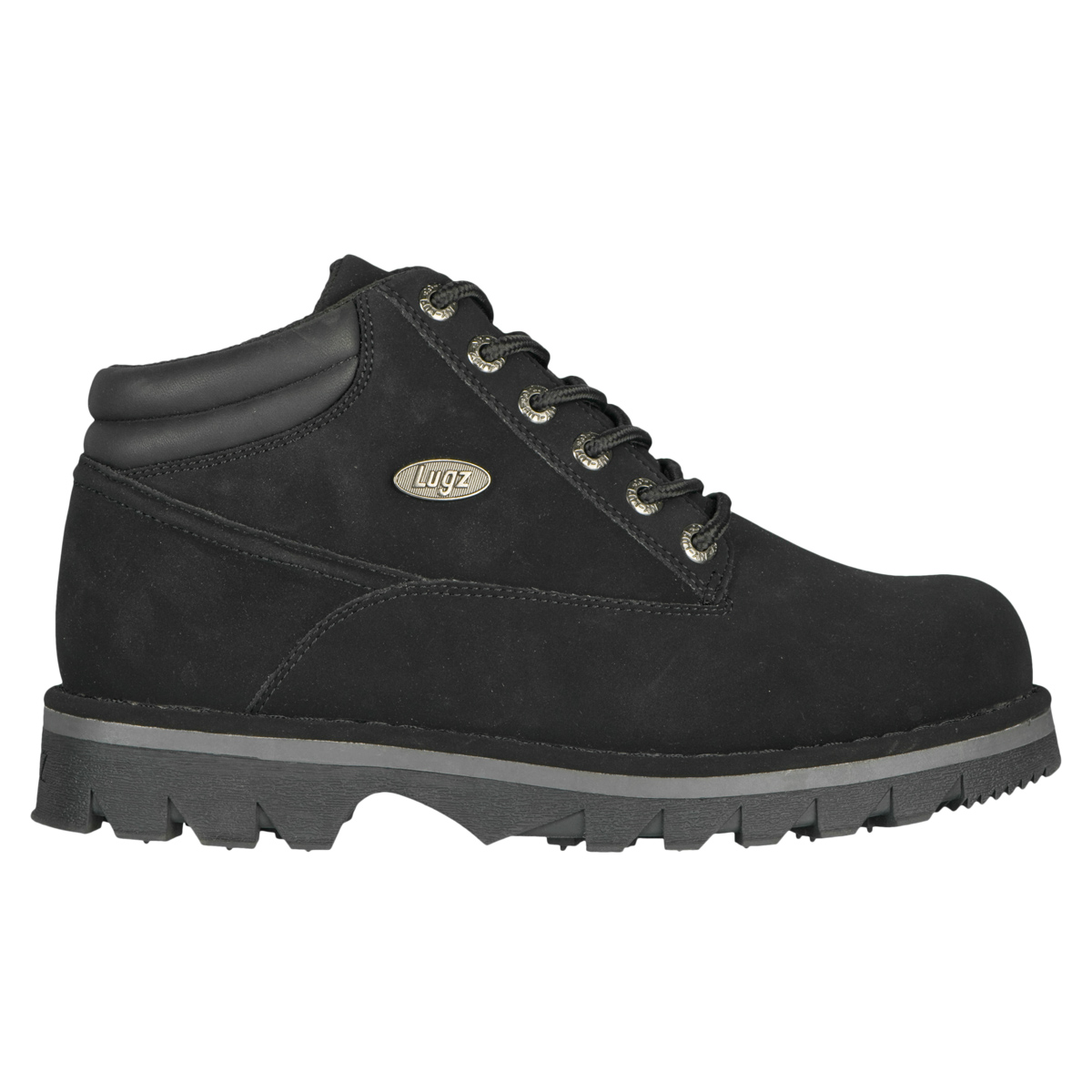 lugz ii mens boot black charcoal stylish footwear