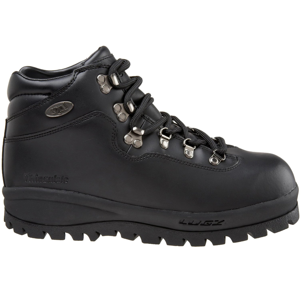lugz oasis mens boot black stylish footwear