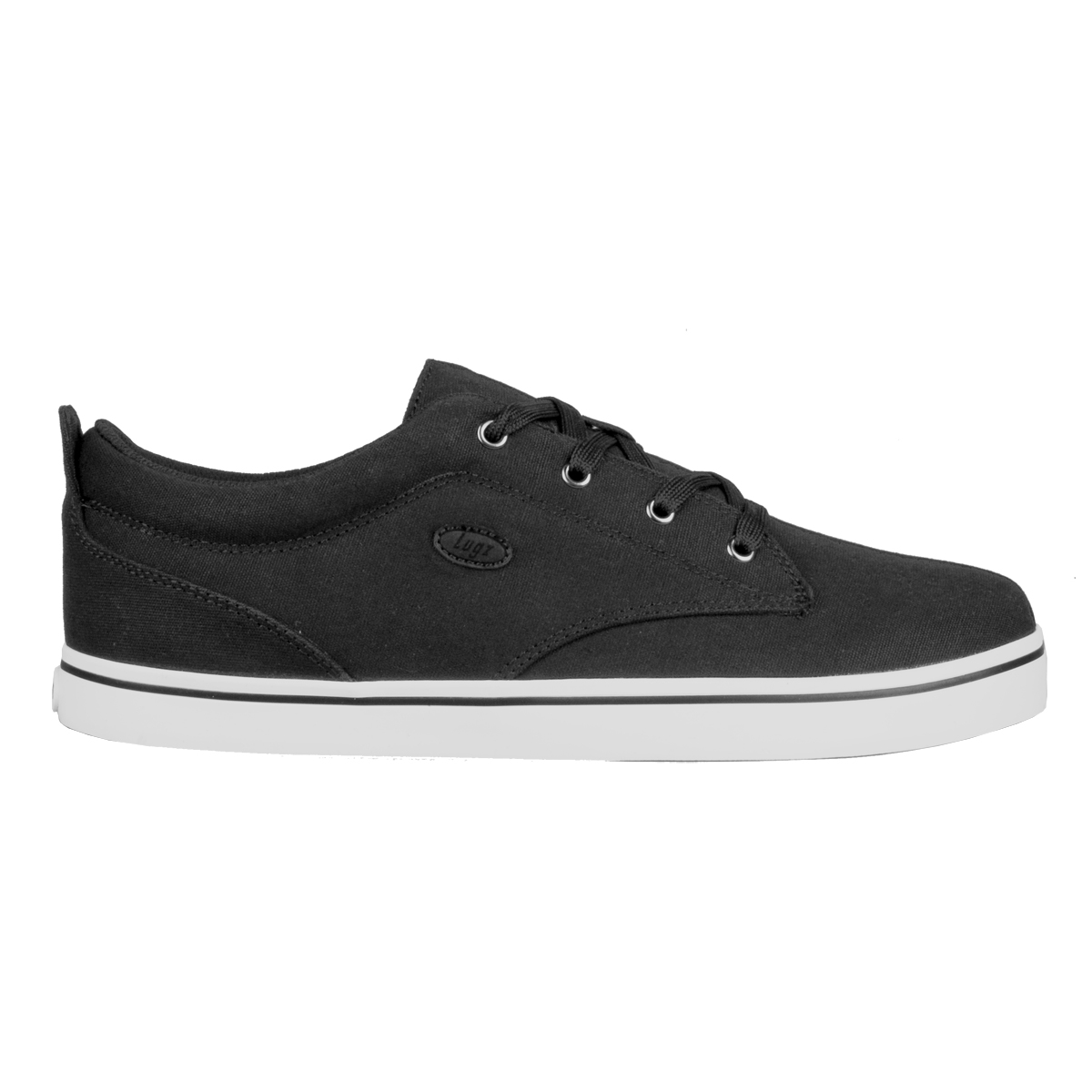 lugz roller lo mens shoe black white stylish footwear