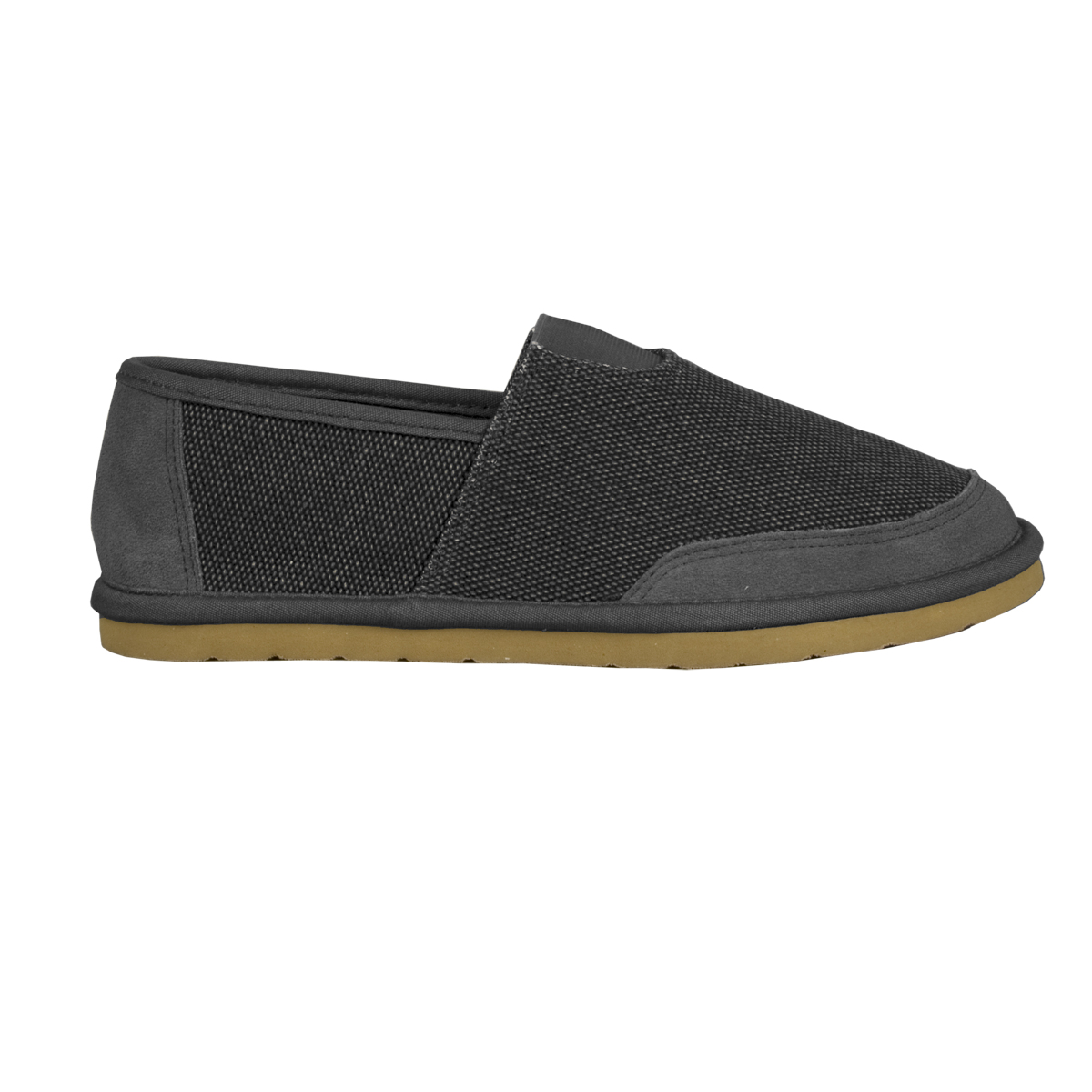 Lugz Root Mens Slip On Charcoal/Gum