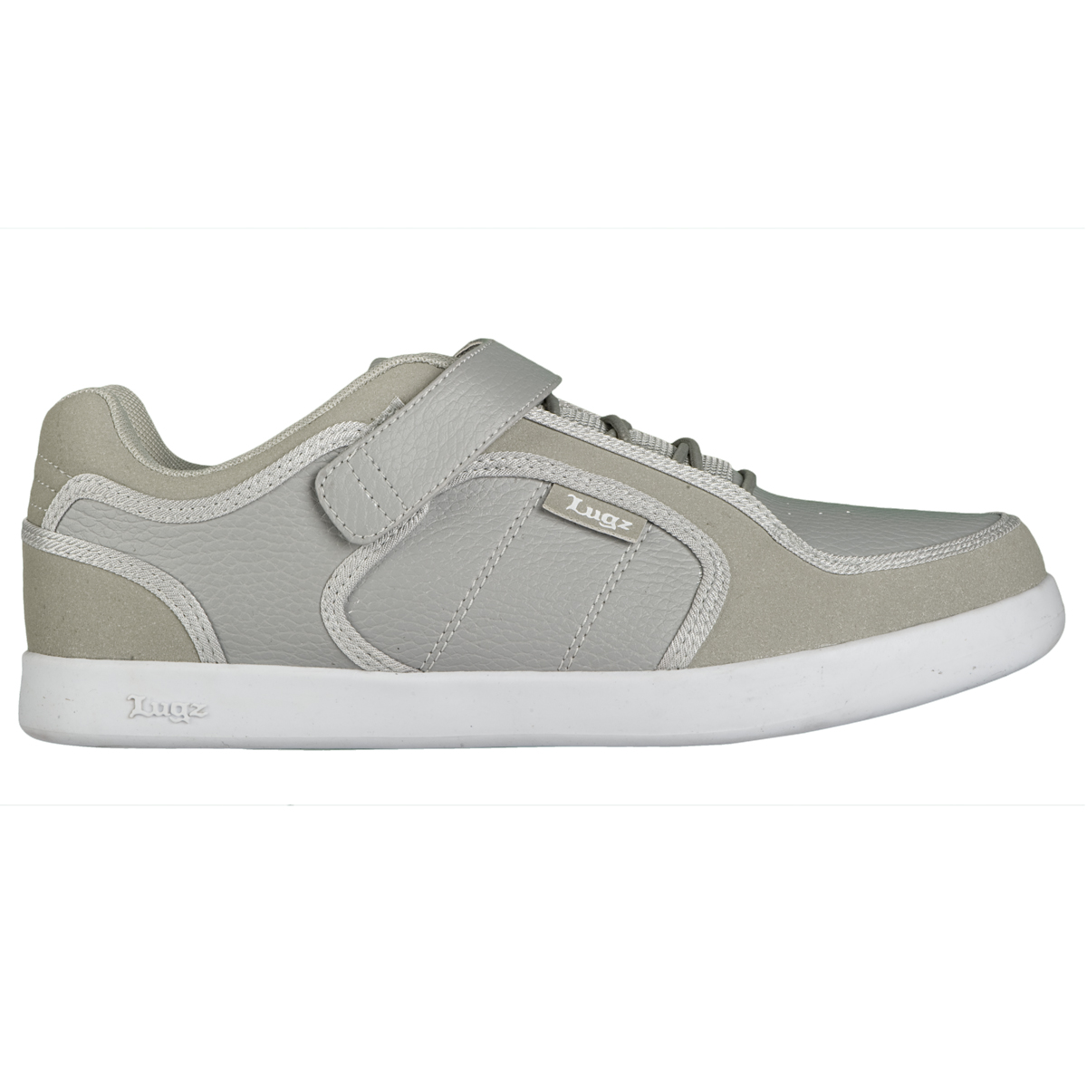 Lugz Slice Mens Sneaker Grey/White