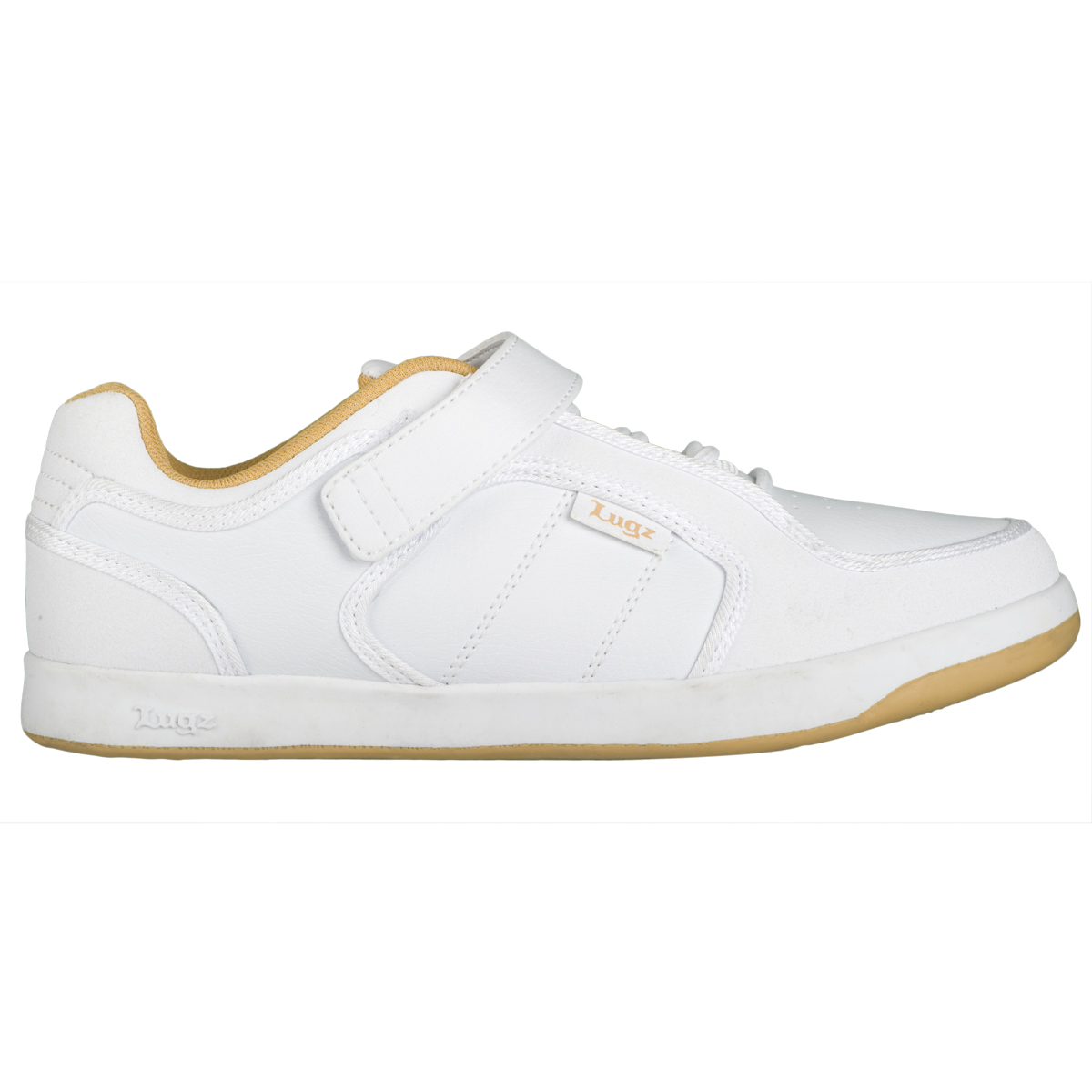 Lugz Slice Mens Sneaker White/Wheat
