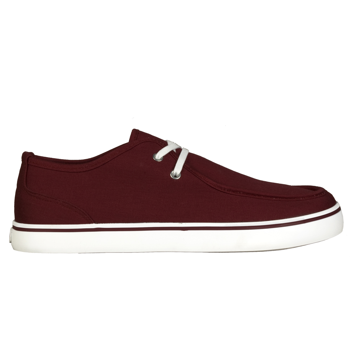 Lugz Sparks Mens Shoe Burgundy/White