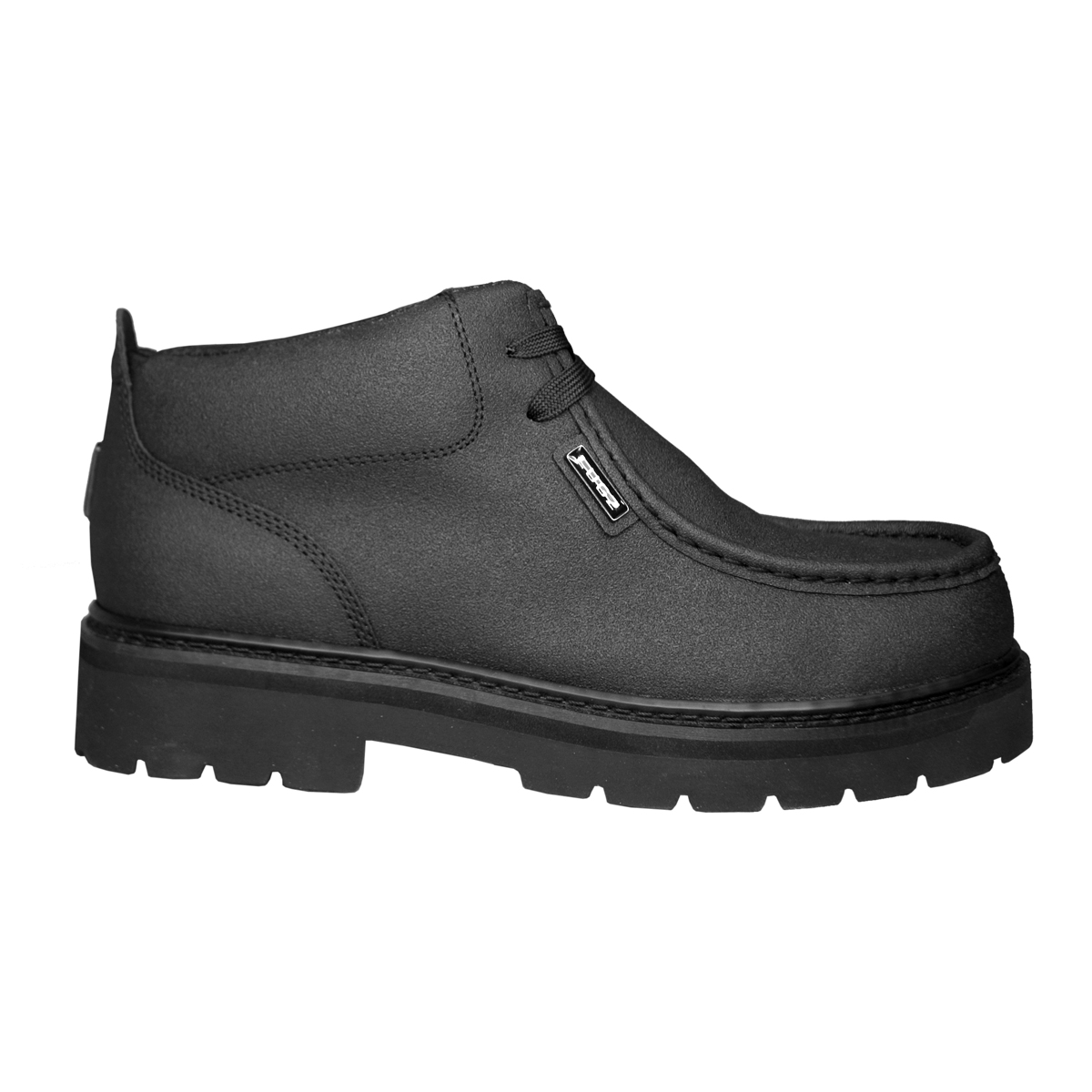 tambee lugz strutt scuff proof mens boot black